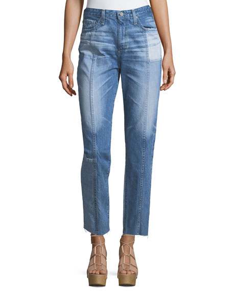 Clearance Low Cost Cheap New Arrival distressed cropped jeans - Blue AG - Adriano Goldschmied Clearance Collections 5zC8Txr