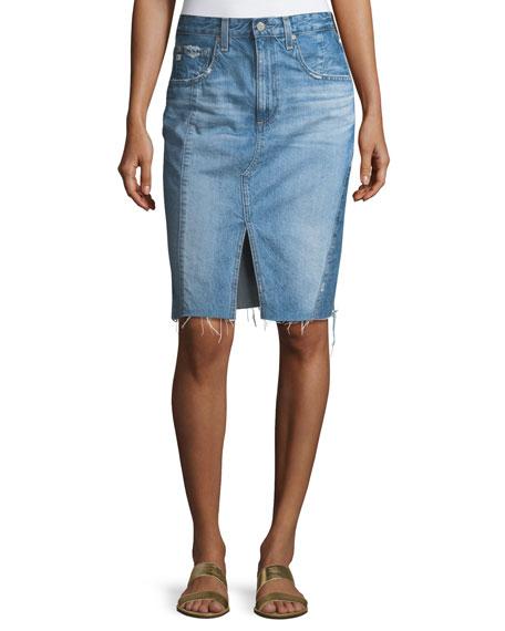 The Emery High-Waist Midi Skirt
