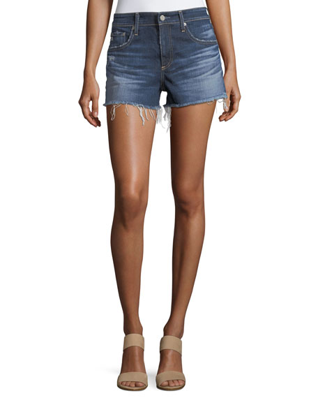 AG The Bryn Relaxed Cutoff Denim Shorts