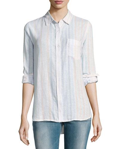 Charli Striped Linen Shirt