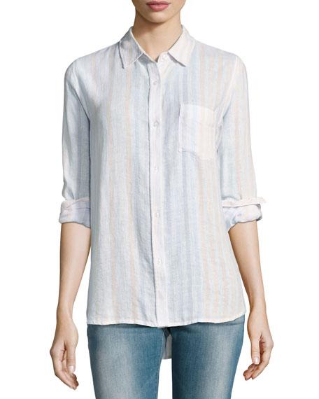 Rails Charli Striped Linen Shirt