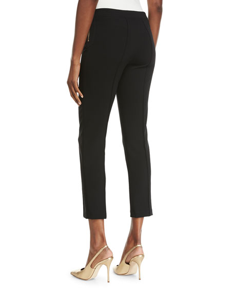 Fitted Cropped Pants