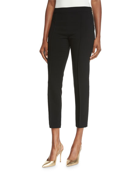 Boutique Moschino Fitted Cropped Pants