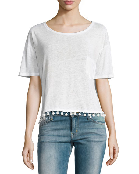 Rails Billie Pompom Short-Sleeve Tee