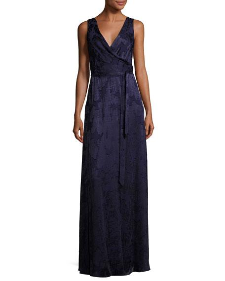 Outlet Store Locations floor-length wrap dress - Blue Diane Von Fürstenberg Sale For Nice Buy Cheap Best Place cLyuchGl
