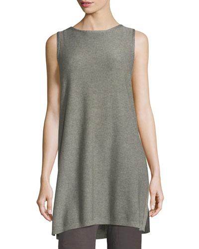 Sleek Tencel®/Merino Sleeveless Tunic
