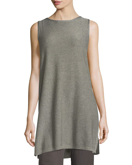 Sleek Tencel®/Merino Sleeveless Tunic