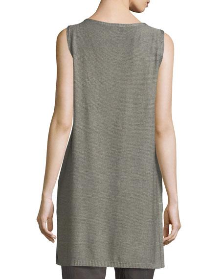 Sleek Tencel®-Merino Sleeveless Tunic, Plus Size