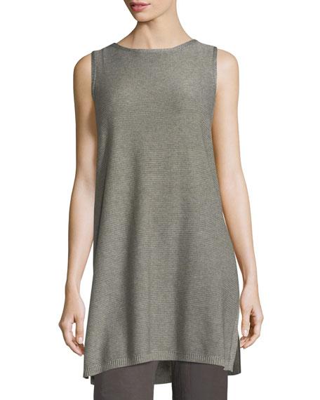 Eileen Fisher Sleek Tencel®/Merino Sleeveless Tunic, Petite