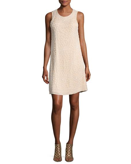 Parker Allegra Beaded Sleeveless Cocktail Dress