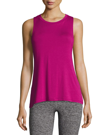 Beyond Yoga Slink Or Swim Open-Back Tank Top