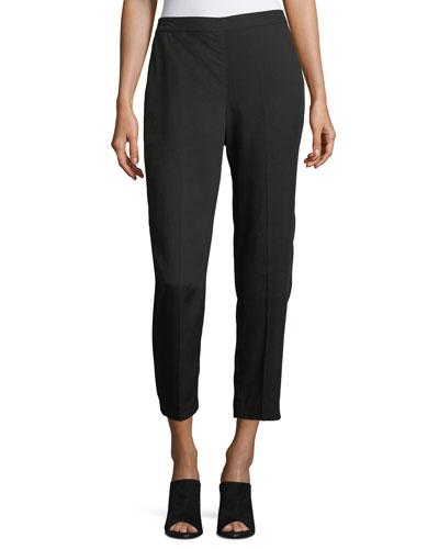 Woven Tencel® Grain Ankle Pants