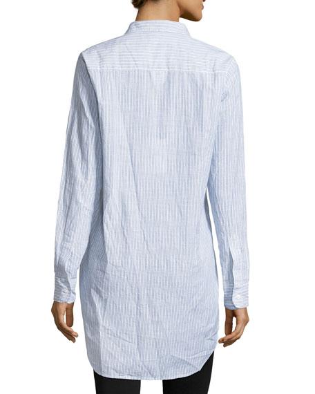 Grayson Striped Button-Front Shirt