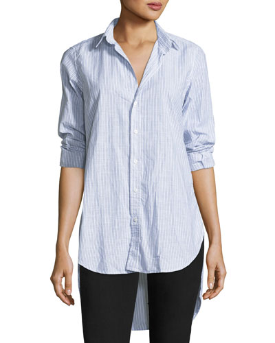 Grayson Striped Button-Front Shirt