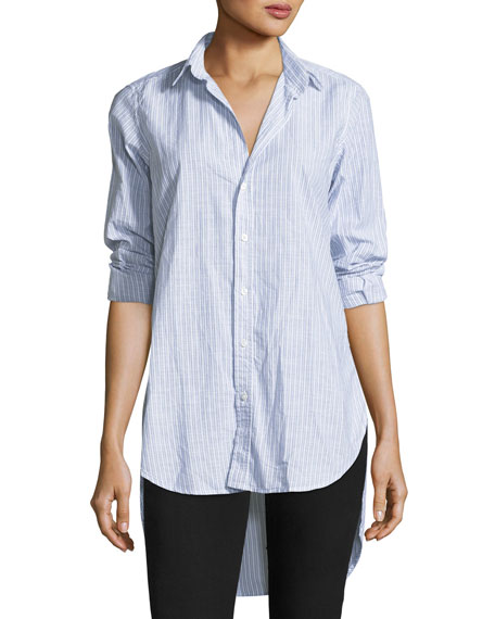 Frank & Eileen Grayson Striped Button-Front Shirt