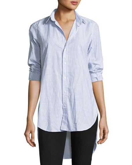 Frank & Eileen Grayson Striped Button-Front Shirt