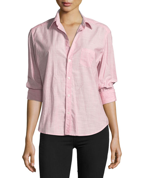 Frank & Eileen Eileen Striped Button-Front Shirt