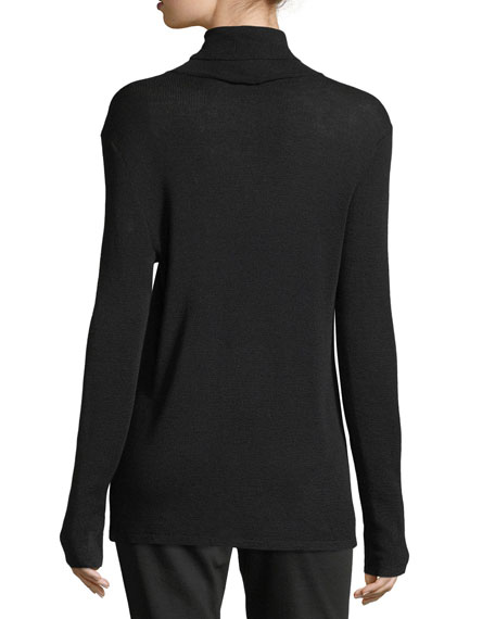 Ultrafine Merino Turtleneck, Petite