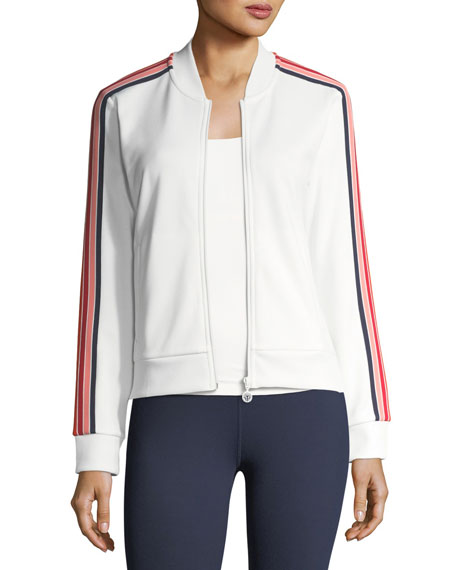 Tory Sport Prism Striped Performance Jacket