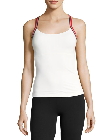 Tory Sport Performance Cross-Back Tennis Tank