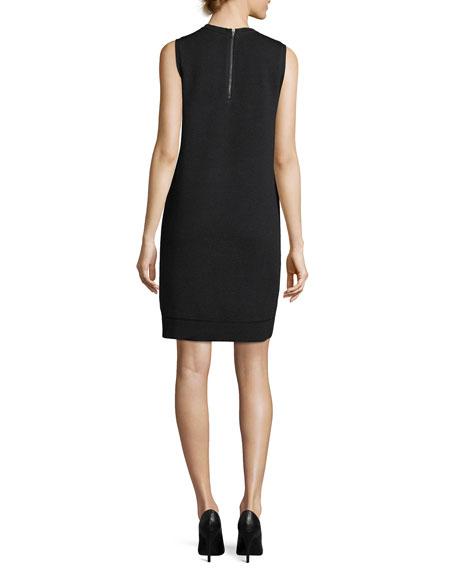 Esmay Sleeveless Stretch-Wool Dress