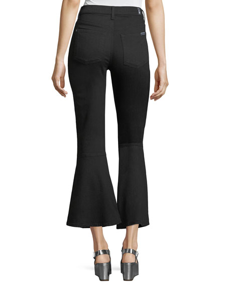 Priscilla High-Rise Flared Denim Jeans