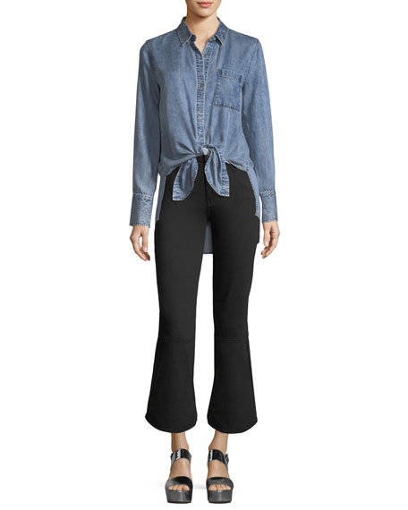 Priscilla High-Rise Flared Denim Jeans
