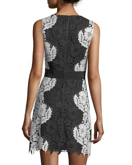Patrice Deep V-Neck A-Line Short Dress