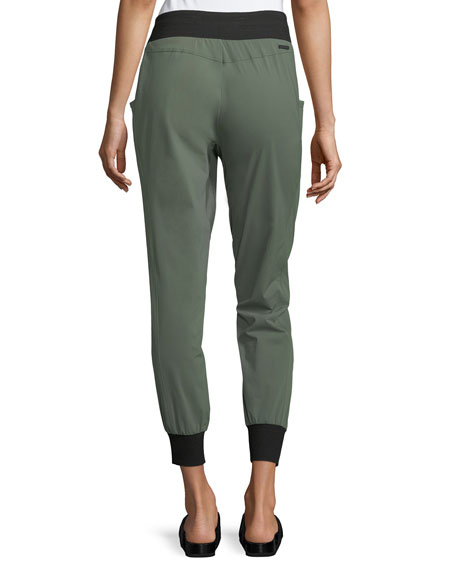 Tech Zip-Pocket Jogger Pants