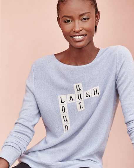 Laugh Out Loud Cashmere Sweater
