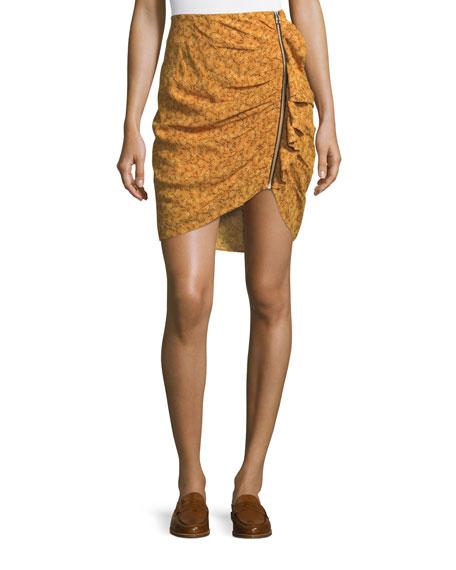 Veronica Beard Asa Long-Sleeve Turtleneck Cashmere Sweater and