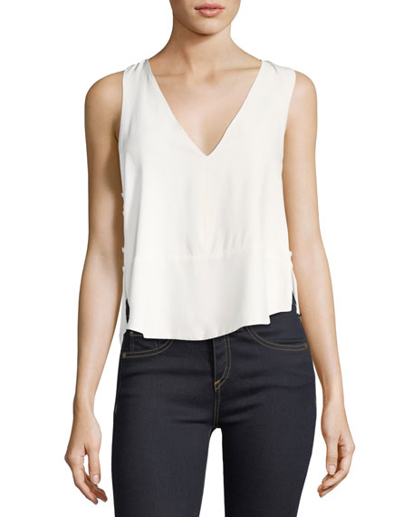 Robert Rodriguez Double Layer Racerback Camisole Top