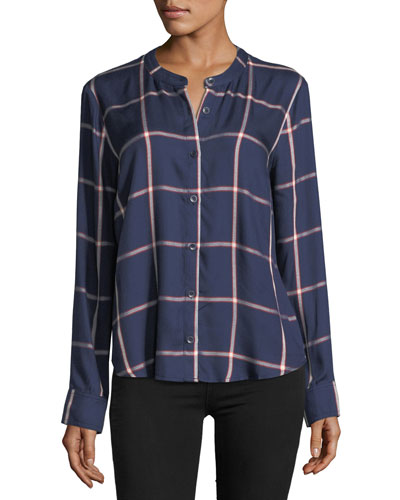 Reily Plaid Button-Up Shirt