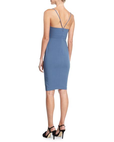 Denlan Keyhole Cocktail Dress