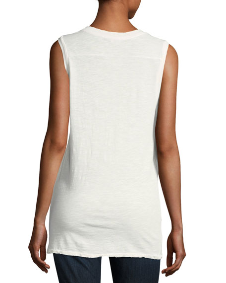 Band-Graphic Muscle Tank