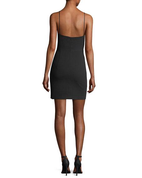 Bermuda Halter Mini Sheath Cocktail Dress