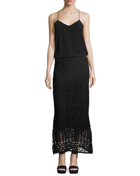 Cecilia Crochet Skirt, Plus Size