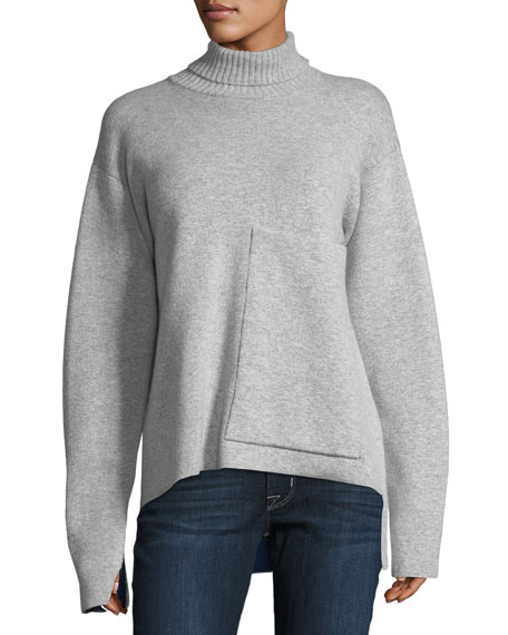 Joseph Double-Faced Wool-Blend Sweater