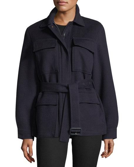 Joseph Riga Wool Military Jacket