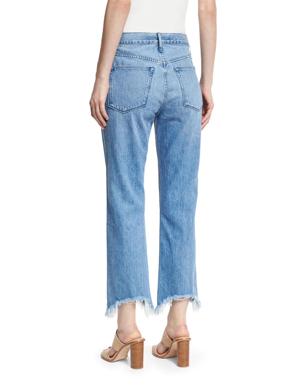 Womens W4 Shelter Straightleg Crop Jeans 3x1 RrUWz