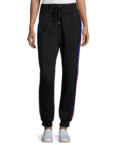 Public School Lucia Side-Stripe Jogger Pants