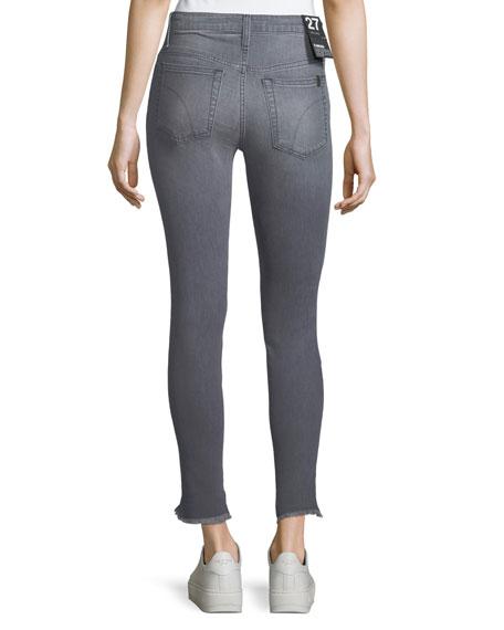 Blondie Frayed-Edge Skinny Jeans