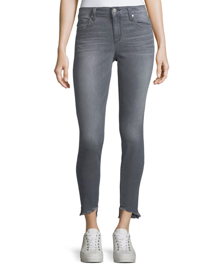 Joe's Jeans Blondie Frayed-Edge Skinny Jeans
