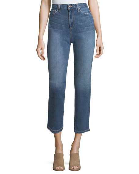 Joe's Jeans Debbie High-Rise Ankle Jeans