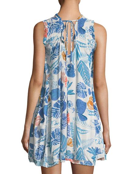 Punta Uva Floral-Print Dress