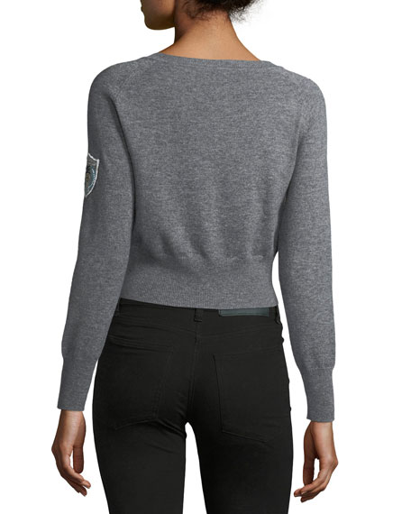 Monarch Cropped Pullover Sweater
