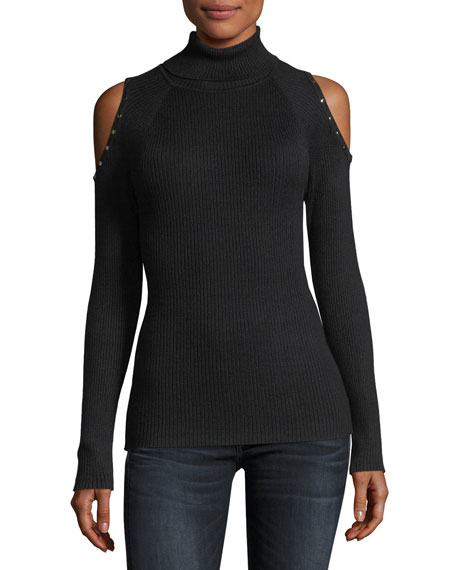 Fitted Turtleneck Sweater | Neiman Marcus