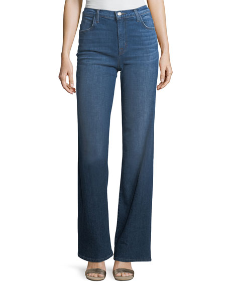 Joan High-Rise Wide-Leg Jeans