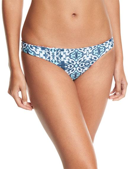 Malibu Fit Mix-Print Swim Bottom