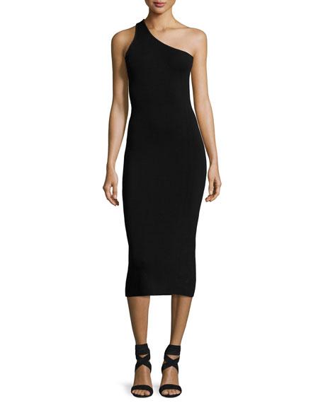 one-shoulder dress - Black A.L.C. fyxPf7h